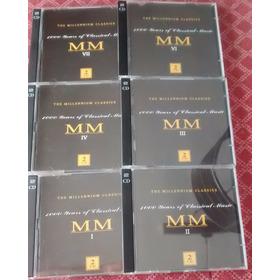 Cd Lote De Millennium Classics - 6 Cds Dobles Usa
