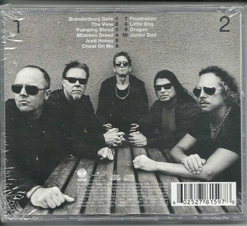 cd lou reed & metallica  -  lulu  lacrado novo (2 cds)