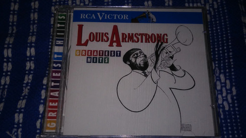 cd louis armstrong - greatest hits