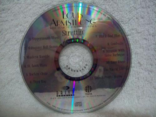 cd louis armstrong- struttin'