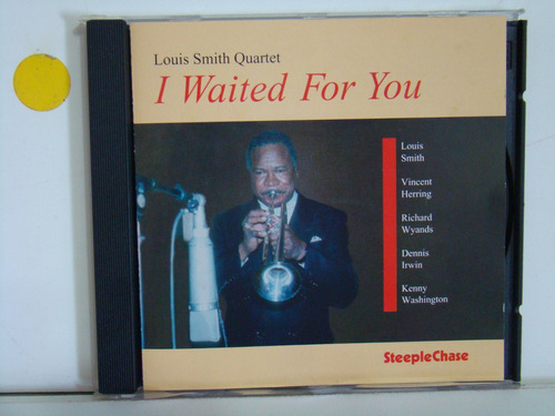 cd - louis smith quartet - i waited for you - importado