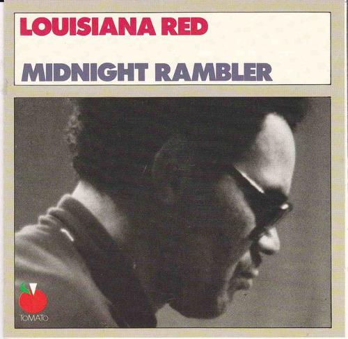 cd louisiana red midnight rambler [