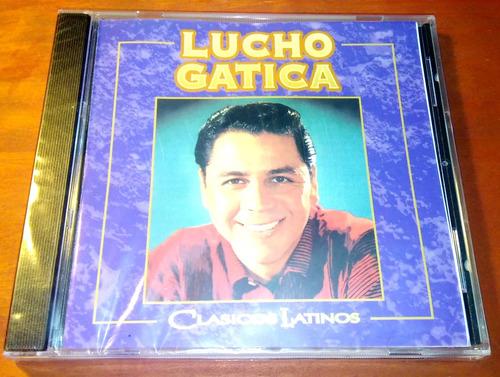 cd - lucho gatica - clasicos latinos (nuevo sellado)