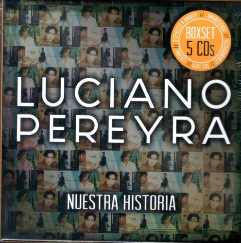 cd luciano pereyra nuestra historia boxset 5 cds open music