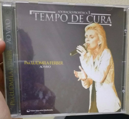 cd ludmila ferber - adoração profética 3 - tempo de cura