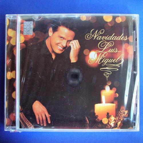 cd luis miguel navidades edición original 2006 nuevo sellado