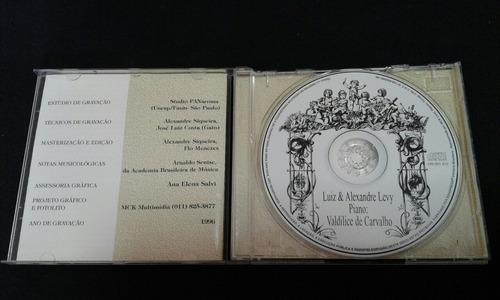 cd luiz & alexandre levy  piano valdilice de carvalho