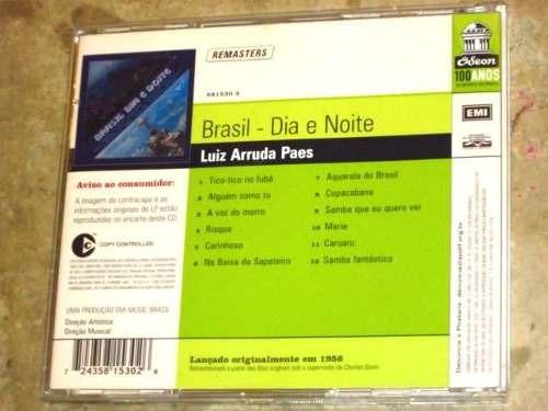 cd luiz arruda paes - brasil noite e dia edição 2003 lacrado