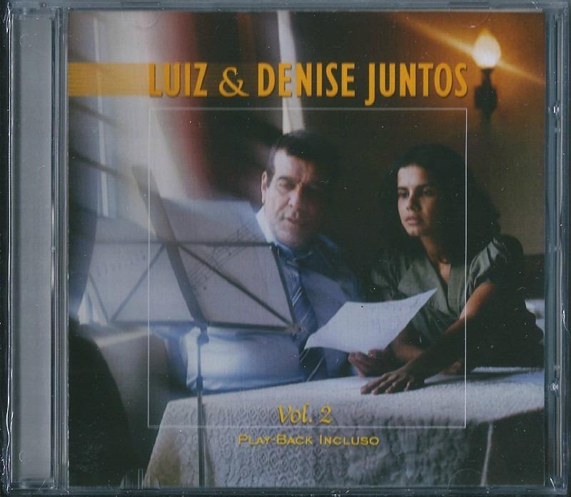 Cd Luiz De Carvalho E Denise Juntos Vol 2 Bônus Pb B86 - R$ 18,99 ...