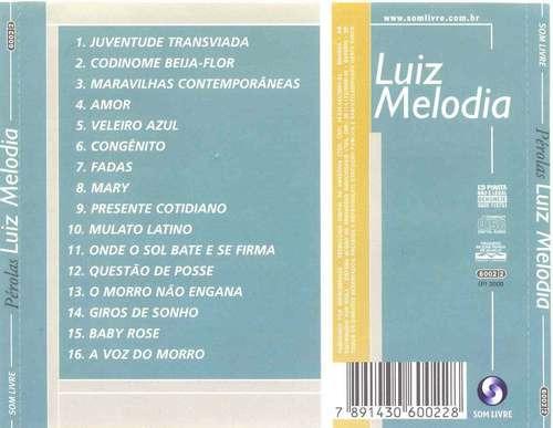 cd luiz melodia - perolas