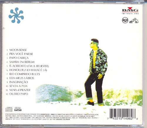 cd lulu santos - honolulu - 1990