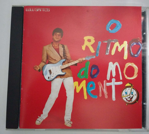 cd - lulu santos - o ritmo do momento -1983