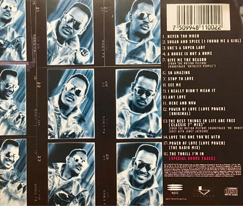cd luther vandross greatest hits