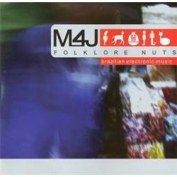 cd m4j - folklore nuts - novo lacrado***