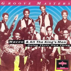 cd maceo & all the kings men - doing their own thing (usado/