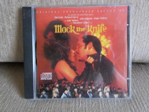 cd mack the knife - original soundtrack