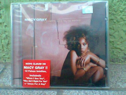 cd macy gray  /  the trouble.whit  =lacrado - (frete grátis)
