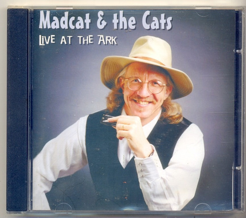 cd mad cat & the cats - live at the ark - 2000