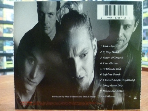 cd mad season - above - alice in chains pearl jam top music