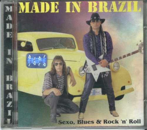 cd made in brazil - sexo, blues & rock 'n' roll - 1998