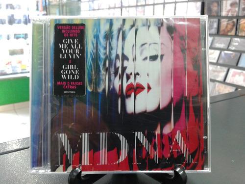 cd madonna -mdna -versão deluxe -lacrado