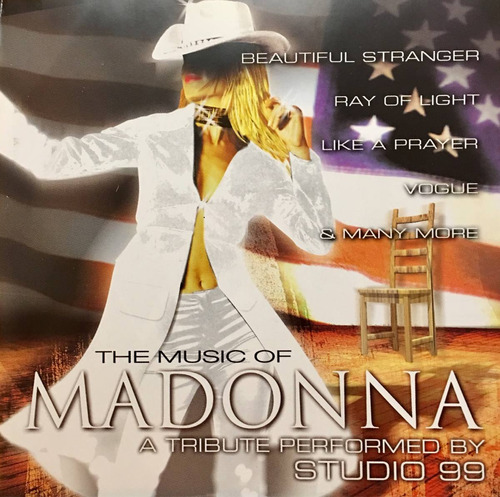 cd madonna the music of a tribute performed by studio 99