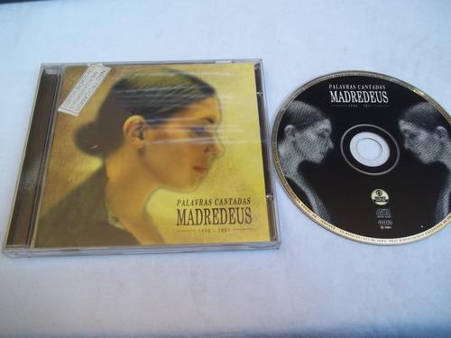 cd madredeus palavras cantadas 1990-2001 - classico orquestr