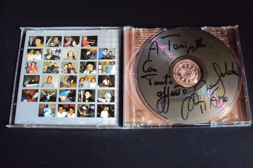 cd - mafalda minnozzi - il tempo dell's amore (autografado)