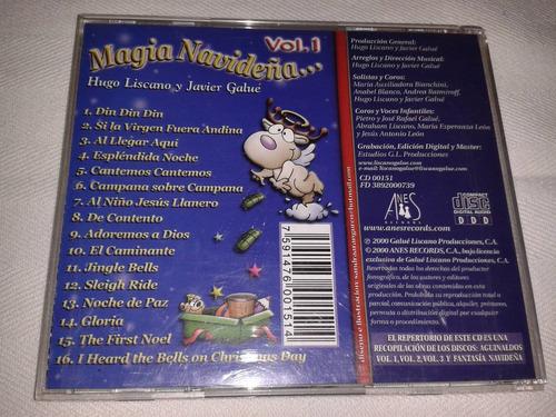 cd magia navideña vol. 1