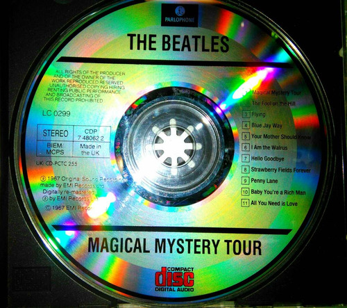 cd  magical mistery tour  edición uk
