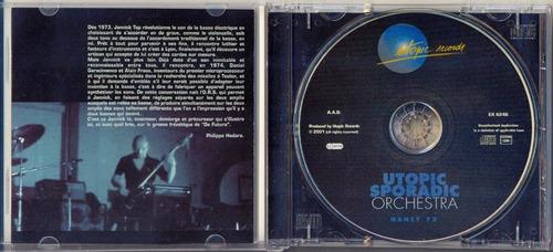 cd magma utopic sporadic orchestra nancy 75 jannick top