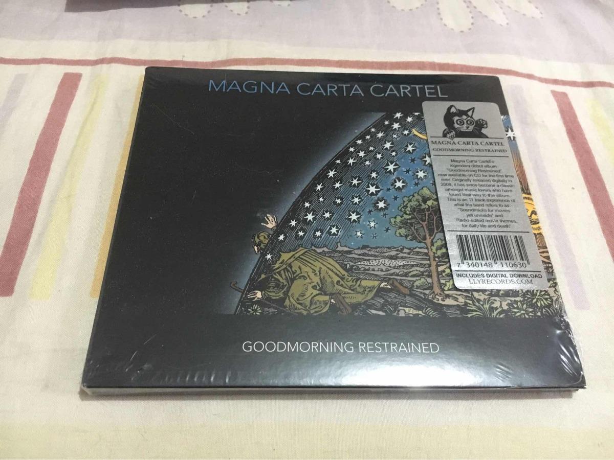 Cd Magna Carta Cartel - Goodmorning Restrained