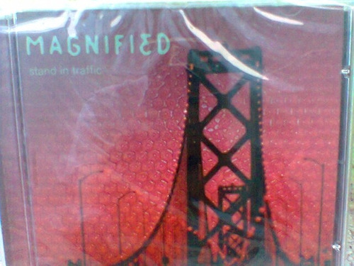 cd magnified /stand in traffic --2000  lacrado- frete grátis