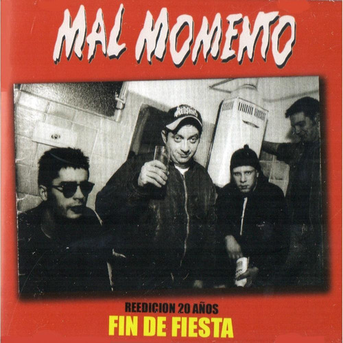 cd mal momento  fin de fiesta  (2015)