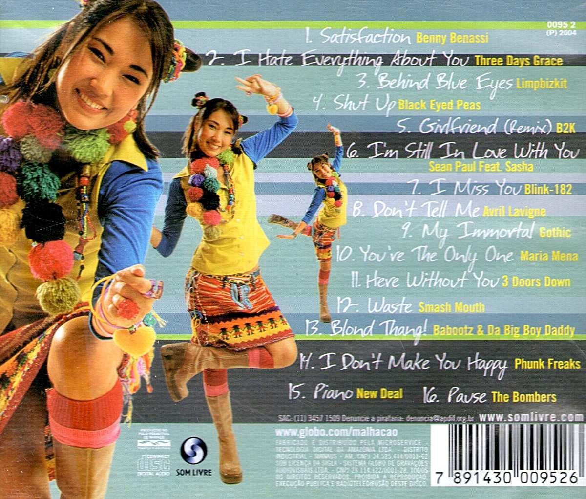 cd malhacao 2004