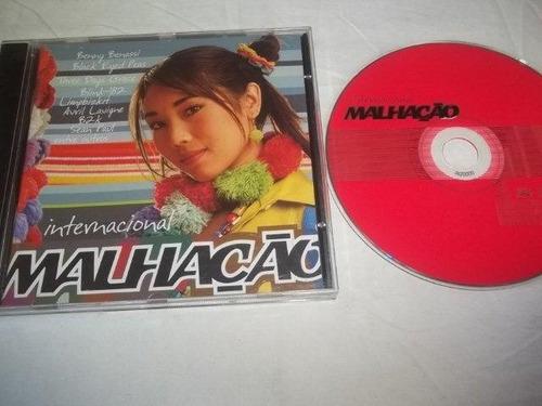 cd - malhação - trilha internacional novela