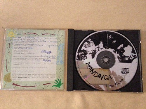 cd - mandinga - terra nativa -