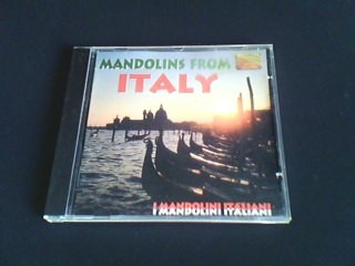 cd mandolins from - italy
