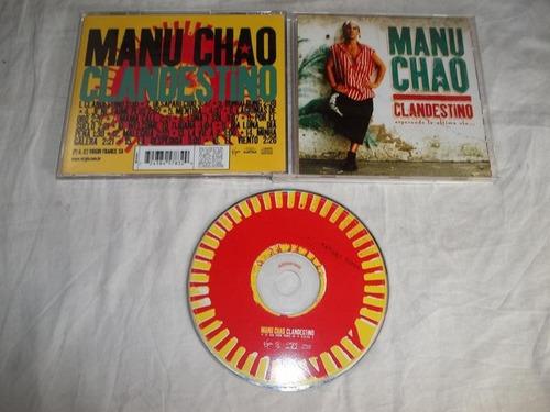 Cd - Manu Chao - Clandestino - R$ 18,00 em Mercado Livre