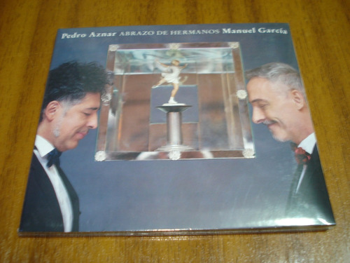 cd manuel garcia pedro aznar / abrazo de hermanos (nuevo)