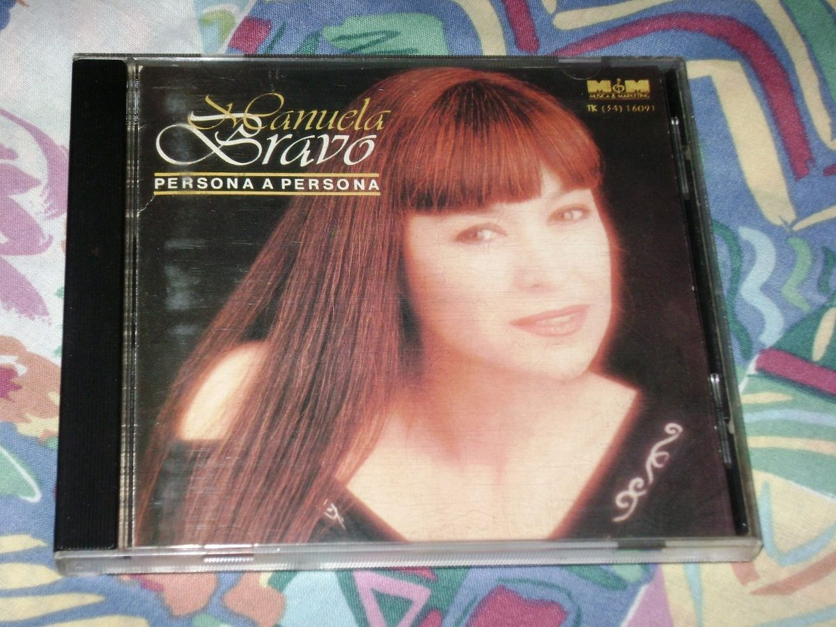 f89b8273abf25 Cd Manuela Bravo 1992 Persona A Persona -   499,90 en Mercado Libre