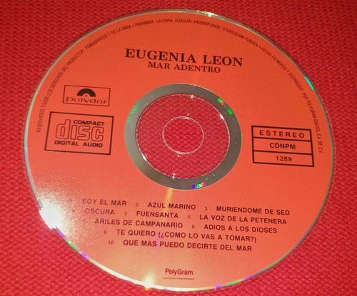 cd mar adentro. de eugenia león.