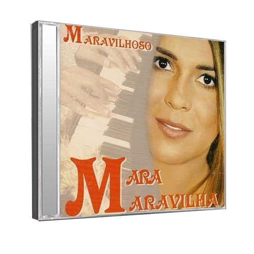cd  mara maravilha: maravilhoso - original raro