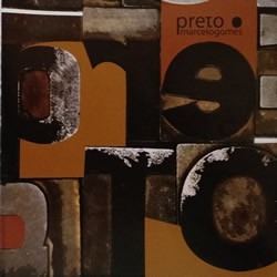 cd marcelo gomes - preto   novo, original