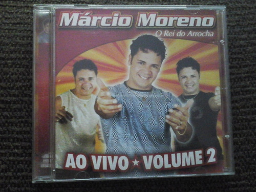 cd márcio moreno ao vivo vol. 2