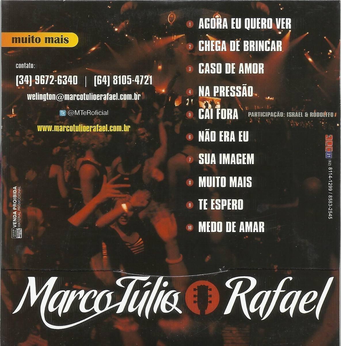 Cd Marco Túlio & Rafael - R$ 19,99 em Mercado Livre
