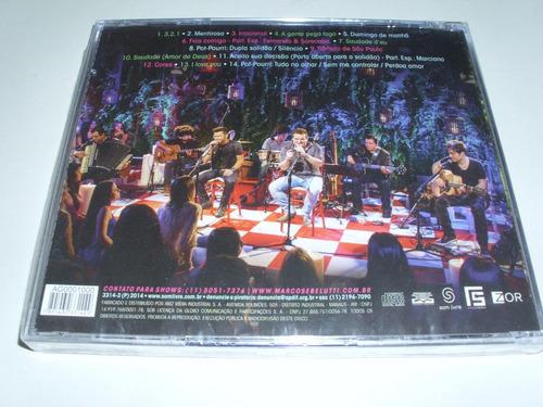 cd marcos & belutti acustico ! original !