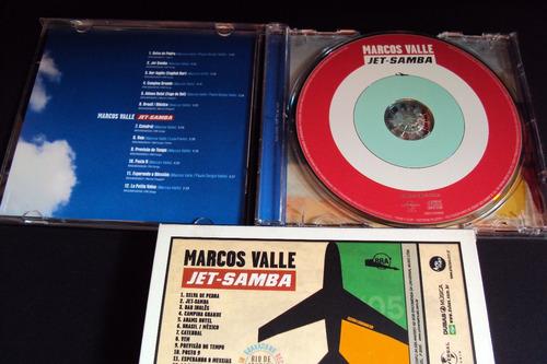 cd marcos valle  jet- samba   (original) capa com luva