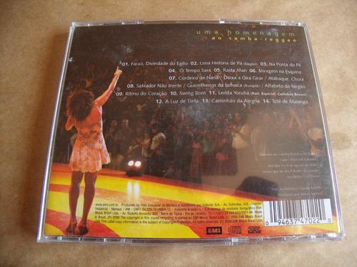 cd margareth menezes brasileira ao vivo ótimo estado