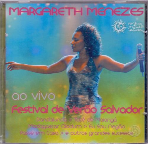 cd margareth menezes - festival salvador ao vivo - novo***